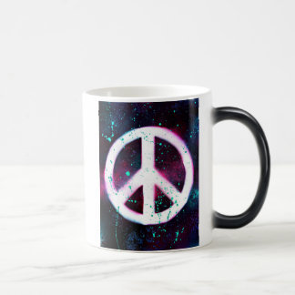 Peace & Coffee Magic Mug