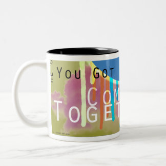 "Peace ""Come Together""  Mug"