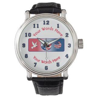 Peace Corps Dove Custom Watch