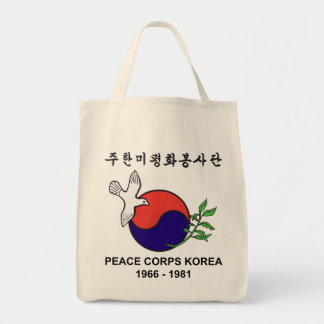 Peace Corps Korea Grocery Tote