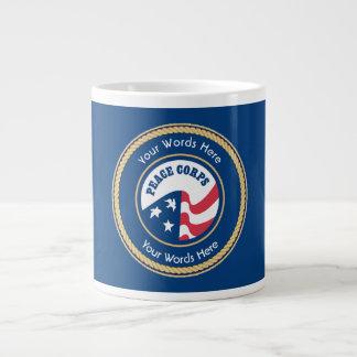 Peace Corps Universal Rope Shield Large Coffee Mug