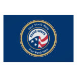 Peace Corps Universal Rope Shield Poster