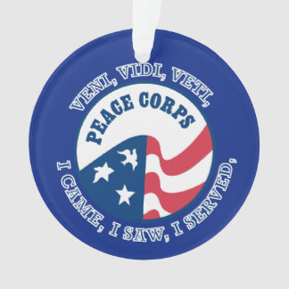 Peace Corps VVV Shield Ornament