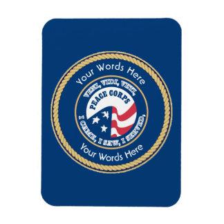 Peace Corps VVV Universal Shield Magnet