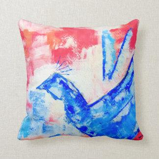 Peace cotton pillow