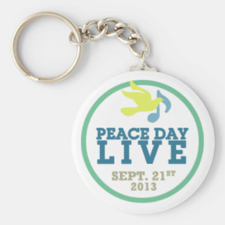 Peace Day LIVE - Keychain