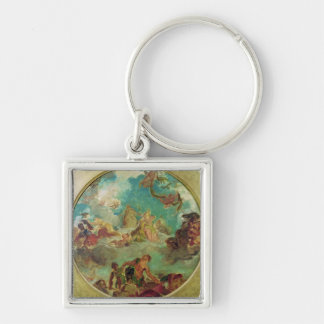 Peace Descending to Earth Key Chains