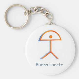 Peace design keychain