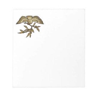 Peace Dove Notepad