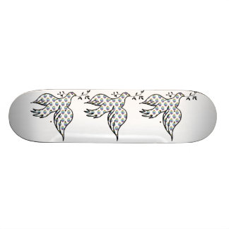 Peace Dove Custom Skateboard