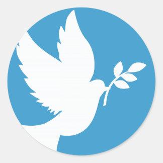 Peace Dove Stickers
