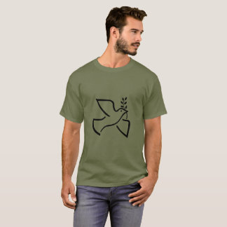 Peace Dove with Olive Branch T-Shirt