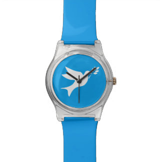 Peace Dove Wrist Watches