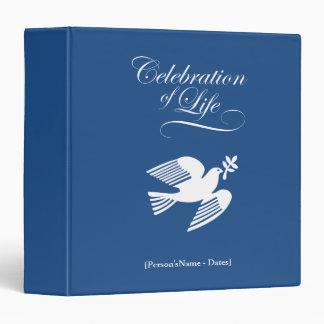 Peace DoveCelebration of Life Memories Scrapbook Binder