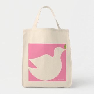 Peace Dover Organic Tote bag