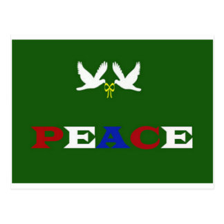 PEACE DOVES POSTCARD