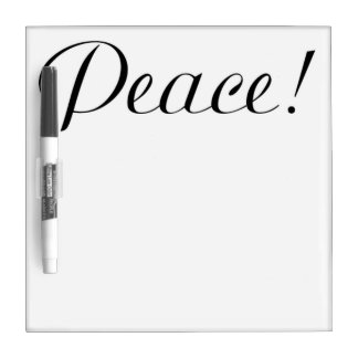 PEACE DRY ERASE BOARD