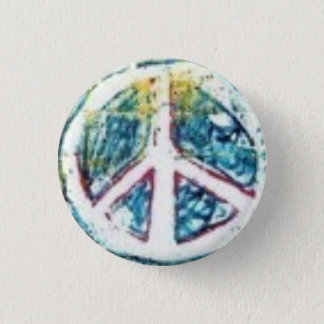 Peace Dude! 1 Inch Round Button