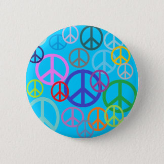 Peace Everywhere 2 Inch Round Button