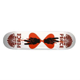 Peace Fingers Skateboard