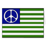 Peace Flag Greeting Card