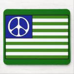 Peace Flag Mouse Pad