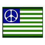 Peace Flag Postcard