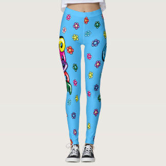 Peace & Flowers Leggings