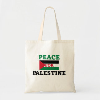 Peace for Palestine Tote Bag