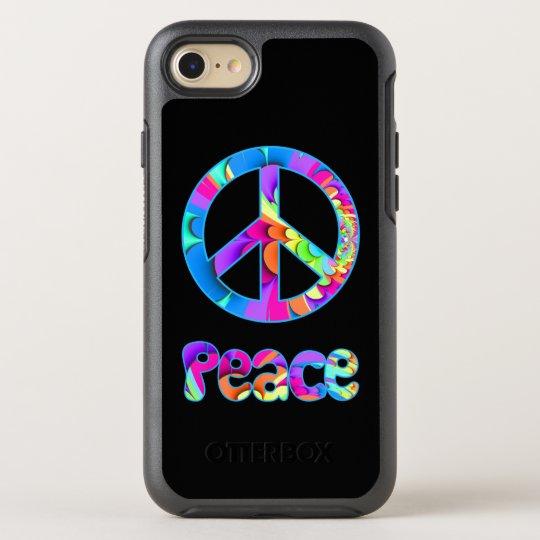 Peace Fractal Summer Palette OtterBox Symmetry iPhone 8/7 Case