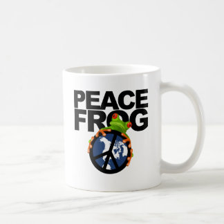 Peace, Frog-2 Coffee Mug