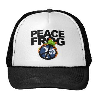 Peace Frog-2 Trucker Hat