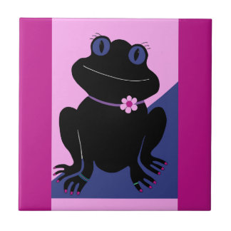 Peace Frog Tile