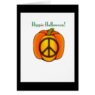 Peace-ful pumpkin card