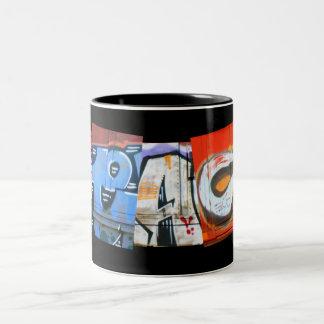 PEACE Graffiti Mug