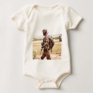 Peace Guard Patrouille soldier Baby Bodysuit