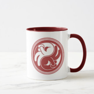Peace Hand Yin Yang Mug