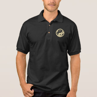 Peace Hand Yin Yang Polo Shirt