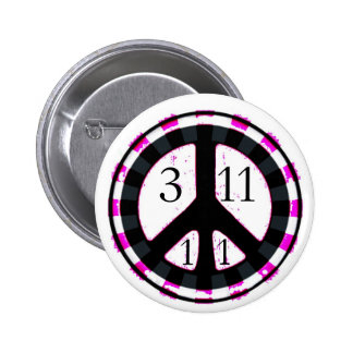 Peace & Happiness for Japan button