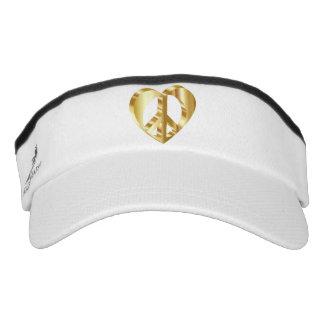Peace heart visor