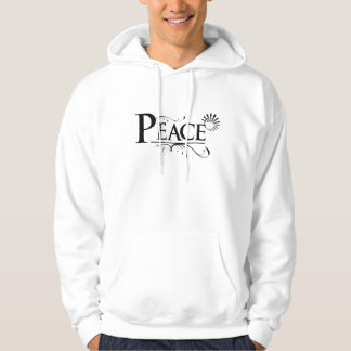 Peace Hooded Pullovers