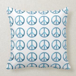 PEACE ICON PATTERN Throw Pillow
