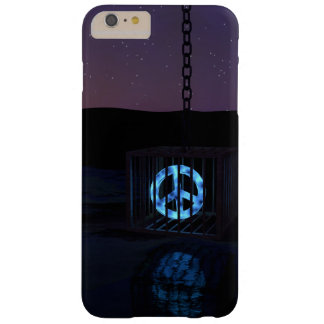 Peace in a Cage - Peace Sign Art Barely There iPhone 6 Plus Case