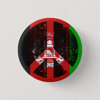 Peace In Afghanistan 1 Inch Round Button