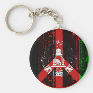 Peace In Afghanistan Keychain
