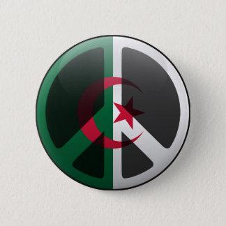 Peace in Algeria 2 Inch Round Button