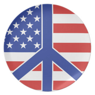 Peace in America Plate