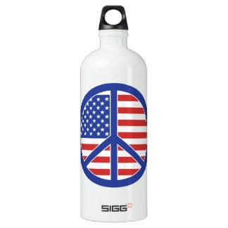 Peace in America Water Bottle