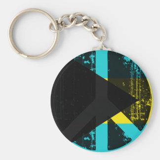 Peace In Bahamas Keychain