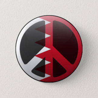 Peace in Bahrain 2 Inch Round Button